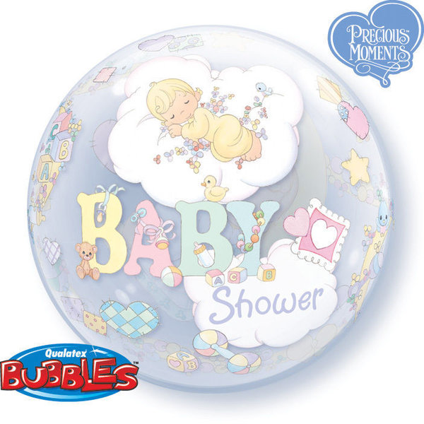 "Bubbles Folienballon ""Baby Shower"""