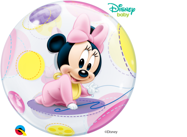 "Bubbles Folienballon ""Baby Minnie Maus"""
