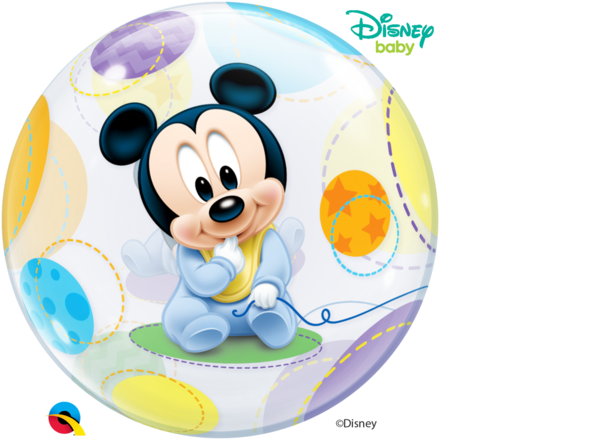"Bubbles Folienballon ""Baby Mickey Maus"""